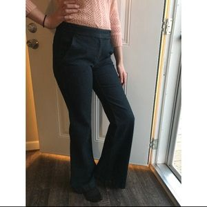 Theory Darkwash Flare bottom jeans size 6